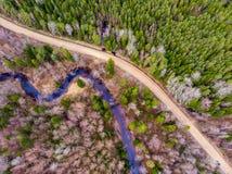 Vitrupe& x22 de rivière ; photographie stock