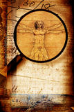 Vitruvian Man Stock Photography