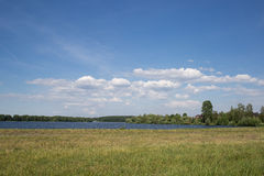Vitrysk sjö Arkivbild