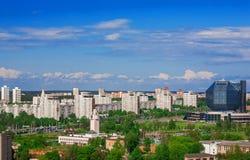 Vitryssland Minsk, självständighetaveny royaltyfria foton