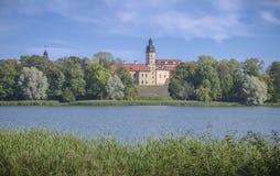 Vitryssland Nesvizh: Nesvizh slott Royaltyfri Bild