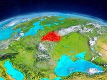 Vitryssland på jord Royaltyfri Fotografi