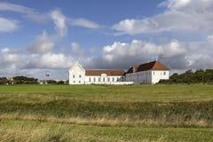 Vitskol修道院是一个前Cistercian修道院,丹麦 免版税库存图片