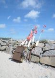 Vitt, νησί Ruegen, η θάλασσα της Βαλτικής, Γερμανία Στοκ Εικόνες