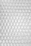 Vitt abstrakt begrepp Backgroun för film för kudde för emballage eller för luft för bubblasjal Royaltyfri Fotografi