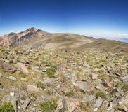 Vitt berg från monteringen Barcroft Royaltyfria Foton