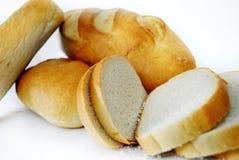 Vitt bröd Royaltyfri Foto