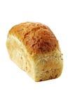 Vitt bröd med isolerad kli Royaltyfri Fotografi