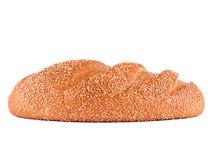 Vitt bröd med sesamfrö Royaltyfria Bilder