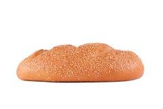 Vitt bröd med sesamfrö Royaltyfria Foton