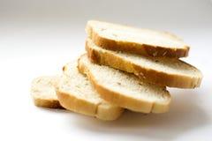 Vitt bröd, släntrar Arkivbild