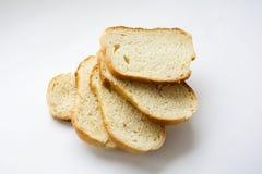 Vitt bröd, släntrar Royaltyfria Foton
