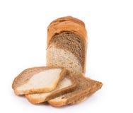 Vitt brunt bröd Fotografering för Bildbyråer