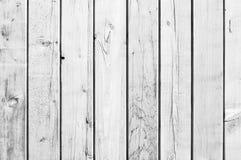 Vitt gammalt trä eller trätappningplankagolv arkivfoto