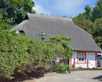 Vitt, isola di Ruegen, Mar Baltico, Germania Fotografie Stock Libere da Diritti