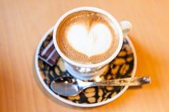 Vitt kaffe arkivbild