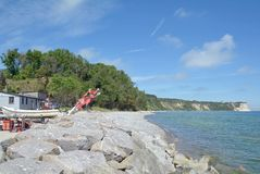 Vitt, Kap Arkona, isola di Ruegen, Germania Immagini Stock Libere da Diritti