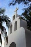 Vitt kapell Arkivbild