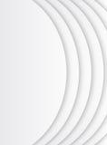 Vitt kort med en pappers- textur Vykort med vågor Material D Arkivfoton