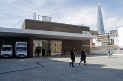 Vitt kubgalleri, Bermondsey, London Royaltyfria Foton