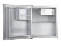 Vitt kylskåp Arkivfoto