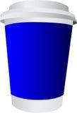 Vitt plast- exponeringsglas Royaltyfria Foton