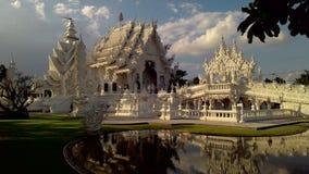 Vitt tempel Arkivfoto