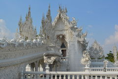 Vitt tempel Royaltyfri Fotografi