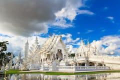 Vitt tempel royaltyfria bilder