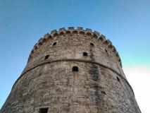 Vitt torn av Thesaloniki Royaltyfria Bilder