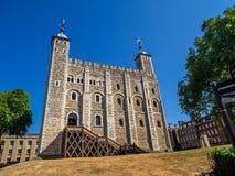 Vitt torn inom tornet av London arkivbild