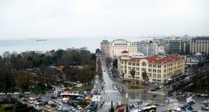 Vitt torn, Salonica, Grekland Royaltyfri Bild