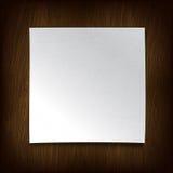 vitt trä för paper vägg vektor illustrationer