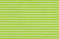 Vitt tyg med gröna band Royaltyfria Bilder