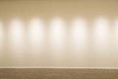 Vitt vägg och golv Royaltyfria Bilder