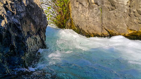 Vitt vatten Royaltyfria Bilder