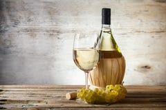Vitt vin arkivfoto
