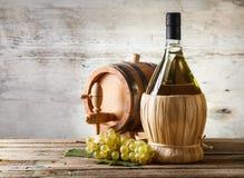 Vitt vin arkivbild