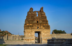 Vittala寺庙塔 免版税库存照片
