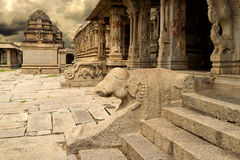 Vittala Świątynny Hampi, Karnataka, India zdjęcia stock