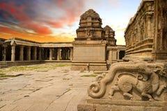 Vittala Świątynny Hampi, Karnataka, India obraz stock