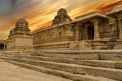 Vittala Świątynny Hampi, Karnataka, India zdjęcie stock