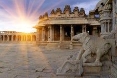 Vittala Świątynny Hampi, Karnataka, India fotografia royalty free