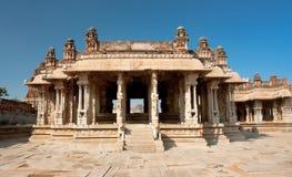 Vittala Hindu temple in Hampi Royalty Free Stock Photography