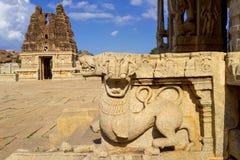 Vittala Hinduska świątynia Hampi, Karnataka, India fotografia stock