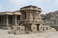 Vittala tempel Arkivfoton