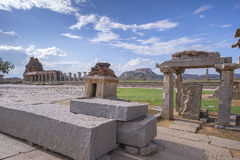 Vittala Tempel Chariot im vittalla Tempel in Hampi hampi - Lizenzfreies Stockfoto