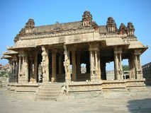 Vittala Tempel Hampi Indien Lizenzfreie Stockfotografie