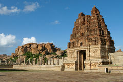 Vittala temple in Hampi Royalty Free Stock Images
