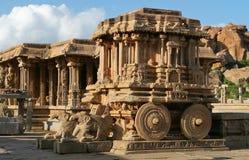 Vittala temple in Hampi Stock Image